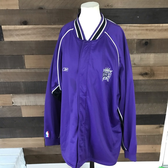 buy popular 592bc 93679 Vintage Sacramento kings purple shooting shirt 2xl